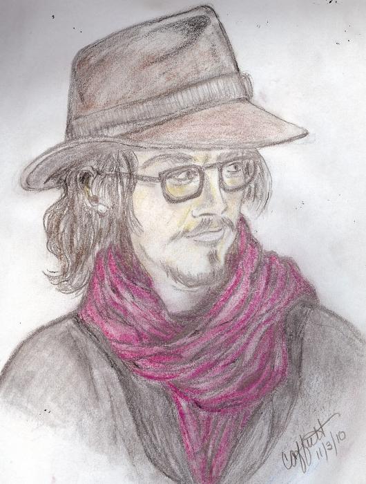 Johnny Depp by offuttc